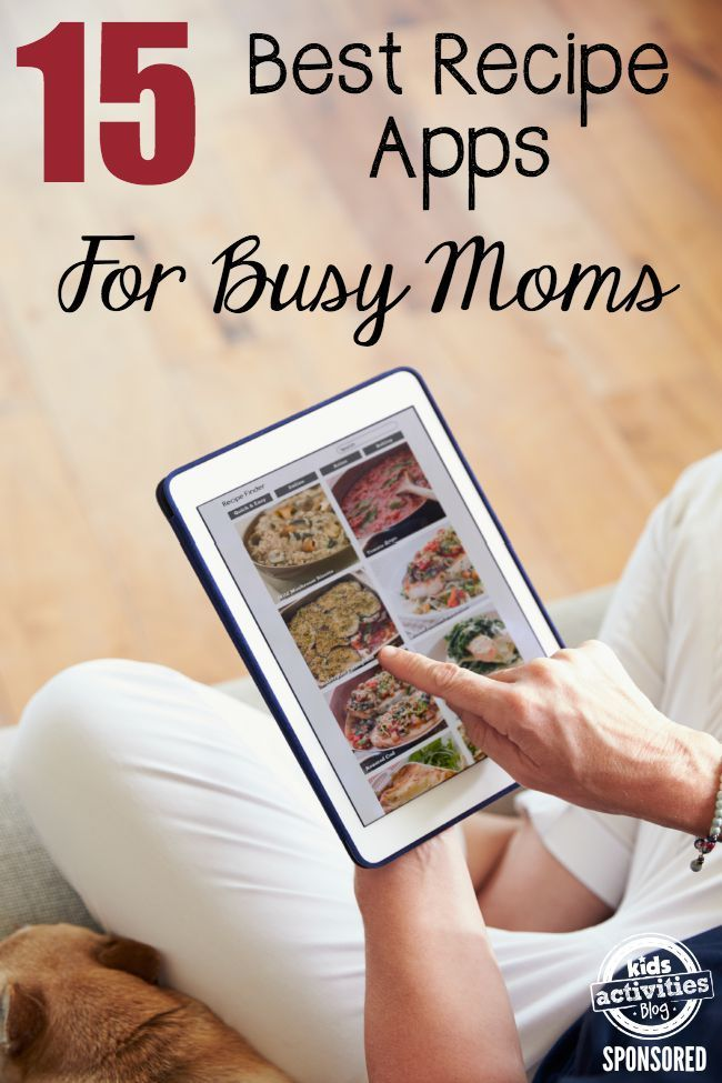 15 of the best recipe apps for busy moms recipes meals and 15 of the best recipe apps for busy moms forumfinder Choice Image