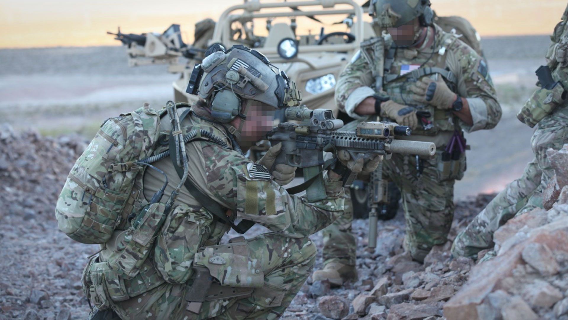 soldiers in crye multicam