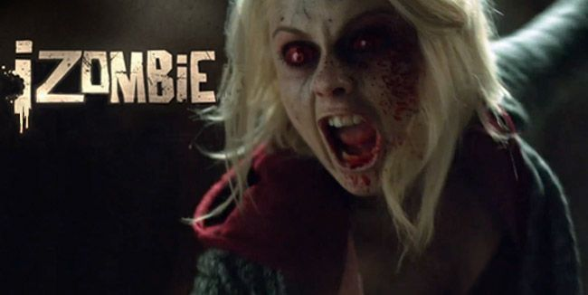 "iZombie trailer: Rose McIver gets zombie intervention. Olivia ""Liv"" Moore (Rose McIver) is having the time of her life as a zombie. She describes herself a ""dead alabaster badass"" in the latest trailer for iZombie. Not everyone is thrilled about the transformation. Her oblivious family holds an invention for what they believe to be PTSD. #tv #zombies http://l7world.com/2015/01/izombie-trailer-rose-mciver-gets-zombie-intervention.html"