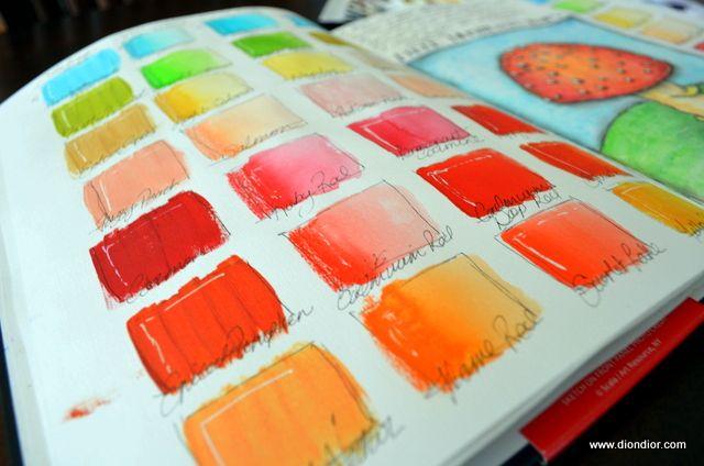 The Color Journal Art Organization Illustration Art