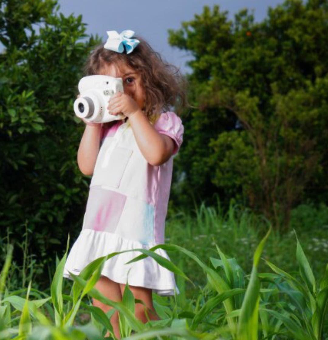نقاشی کودکانه لباس تابستانی