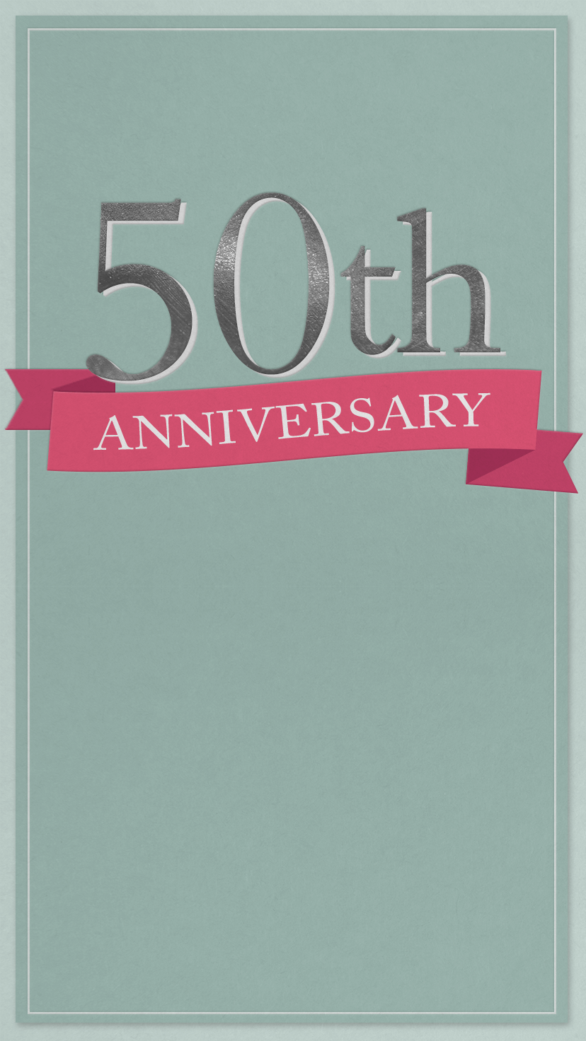 Celebrate Your 50th Anniversary With This Free Digital Evite