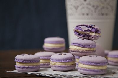 Purple Macaroons~