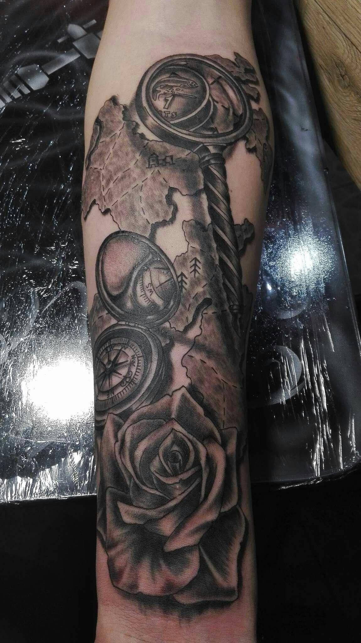 Artist Mārtiņš in Dimension studio tattoo tattoo