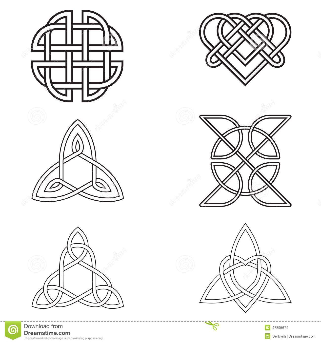 Simbolo Do Amor Eterno Pesquisa Google Tatuajes Celtas Simbolos Celtas Disenos De Unas
