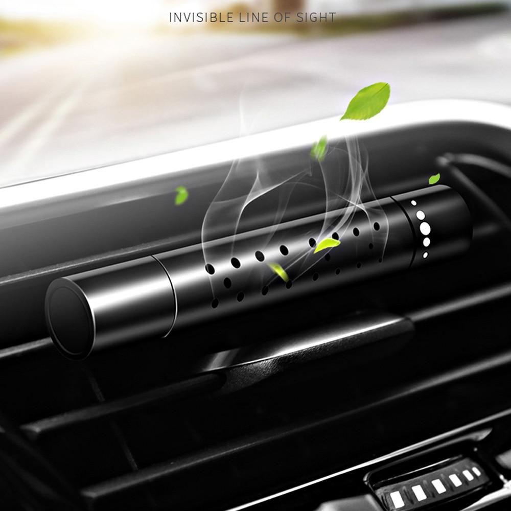Dotted single edge stick perfume air freshener car air