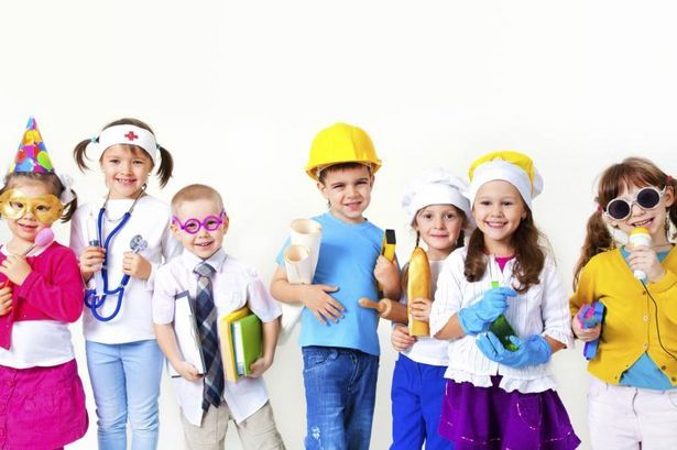 Costumes for a Career Day for Kids