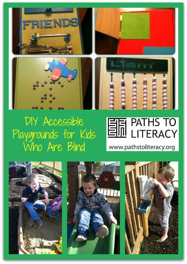 Creating a DIY playground for our son who is deafblind