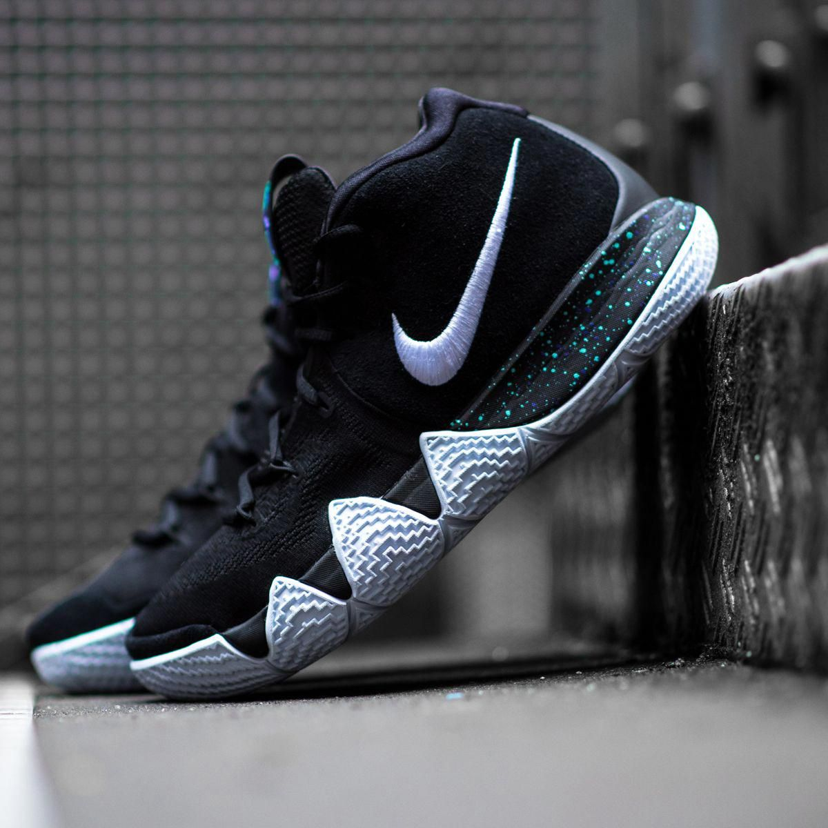 more photos 7c145 ff09e Kyrie's got some new shoes! Get the Nike Kyrie 4 'Black Ice ...