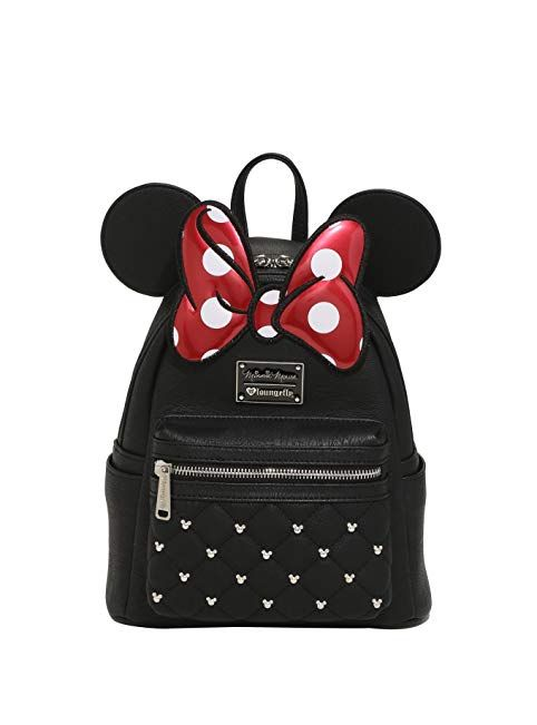 design de qualité 758b7 fc073 Loungefly x Disney Minnie Mouse Mini Backpack Review | Kids ...