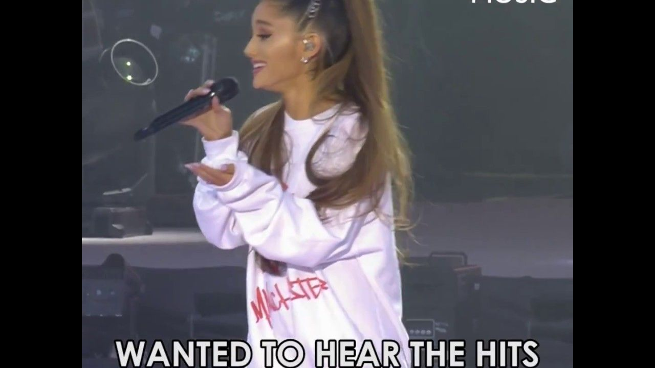Heartfelt words from Ariana Grande at One Love Manchester.