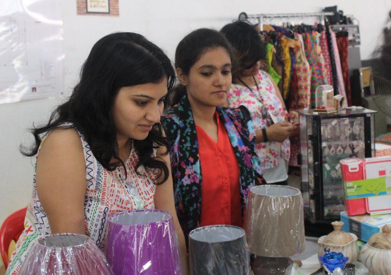 Great response at the Bangalore flea market