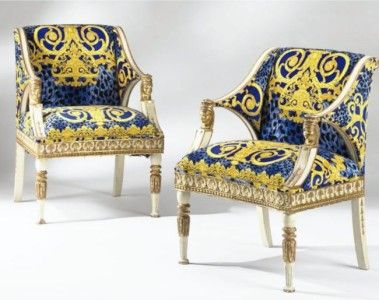 versace chairs   for the home   pinterest