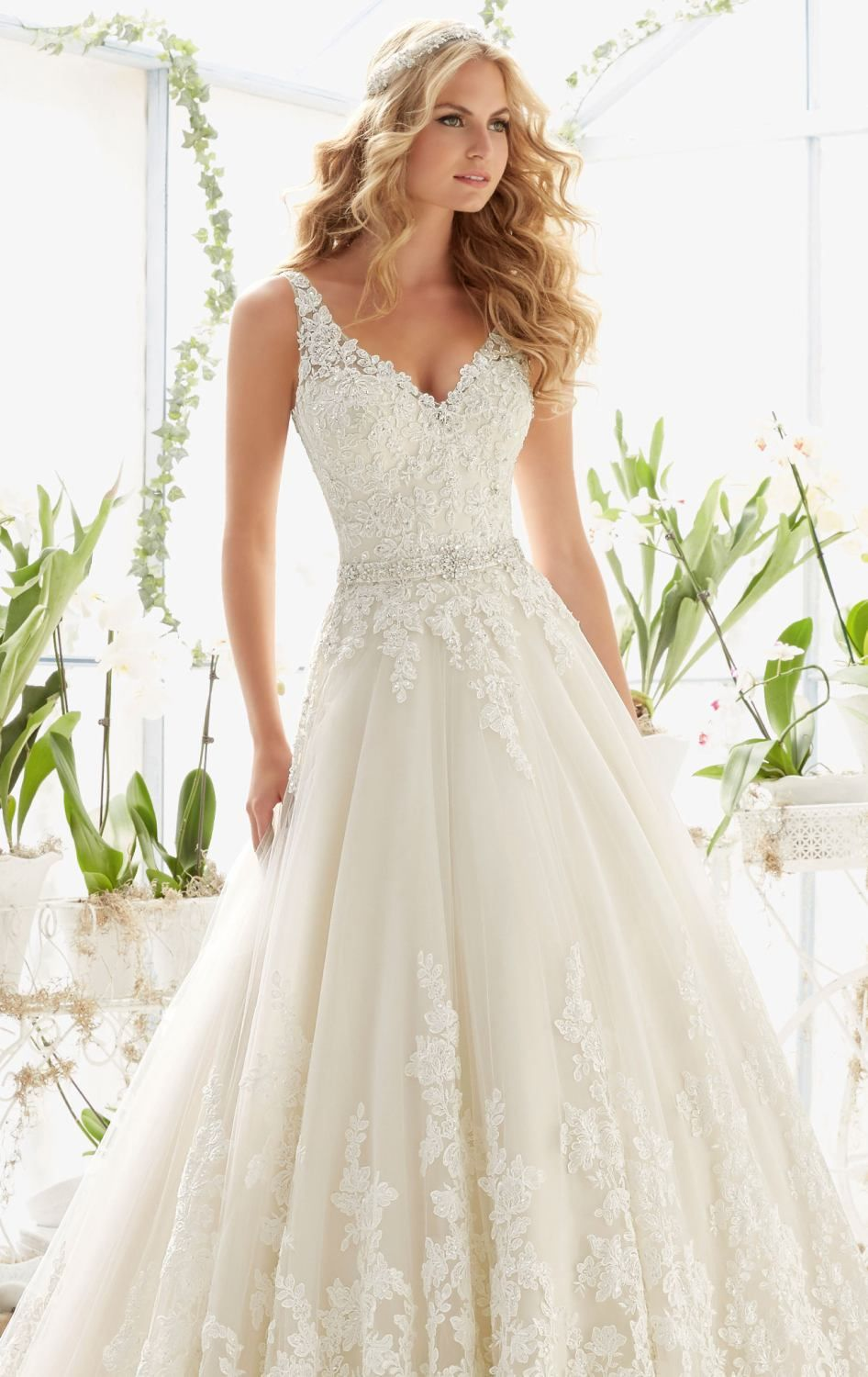 Outshine your natural beauty in bridal by mori lee this