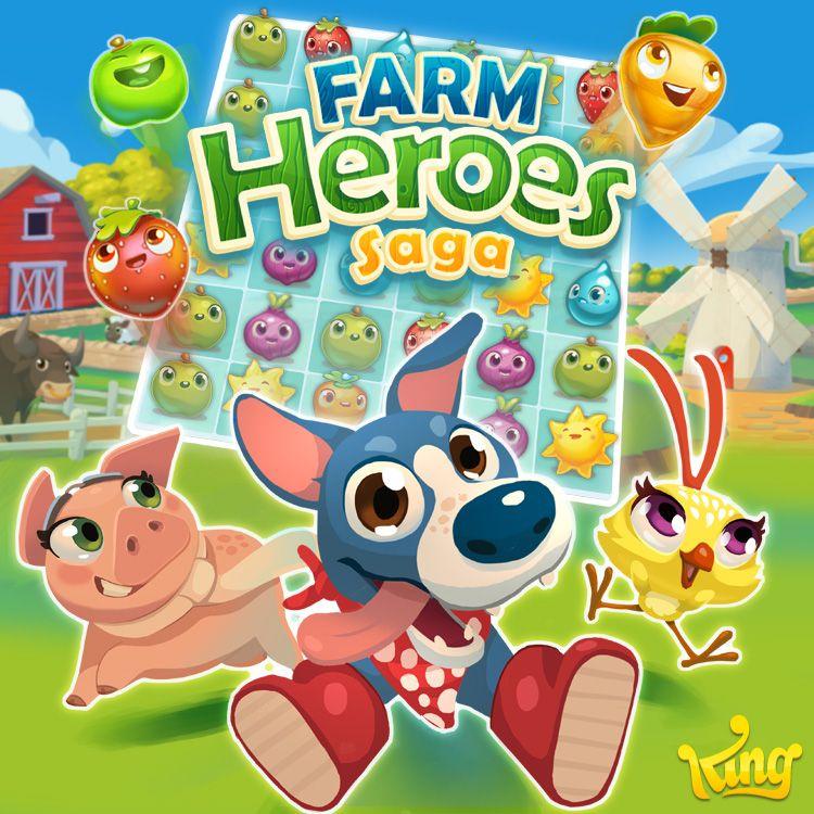 King Spiele Farm Heroes