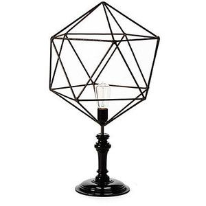 Geometric wire table lamp triangle table lamps apartment items geometric wire table lamp triangle table lamps keyboard keysfo Gallery