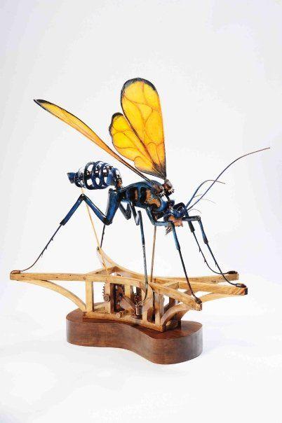 Photos de Maurice Montero Sauvage - esculturas lnsecto 1