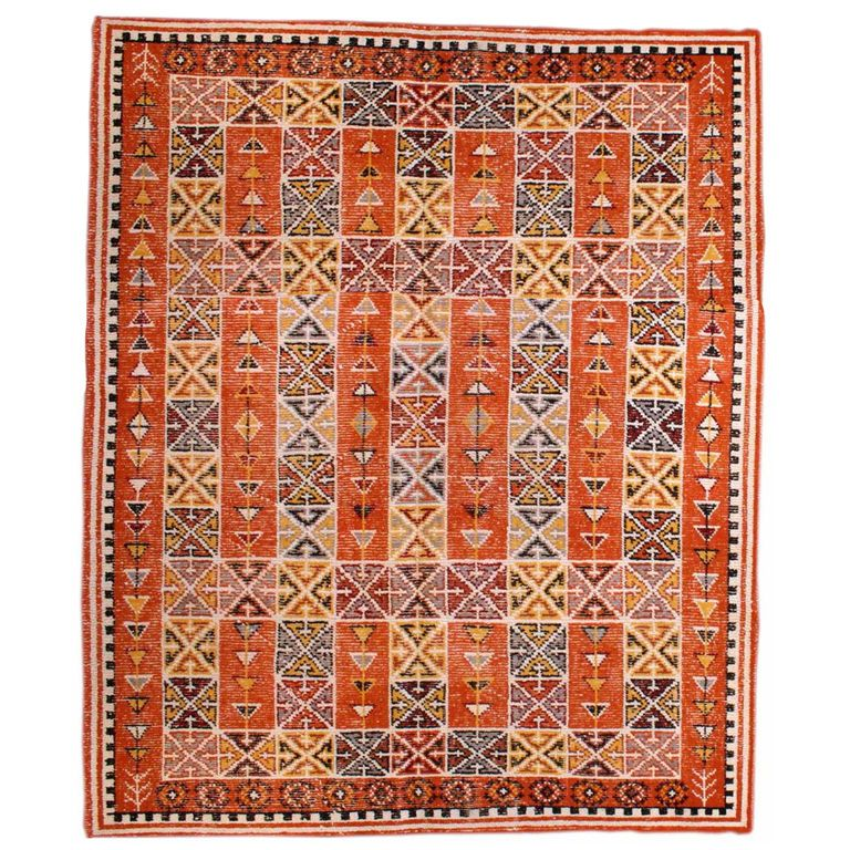 Vintage Moroccan Area Rug Size 8 X 10 Sizes Modern
