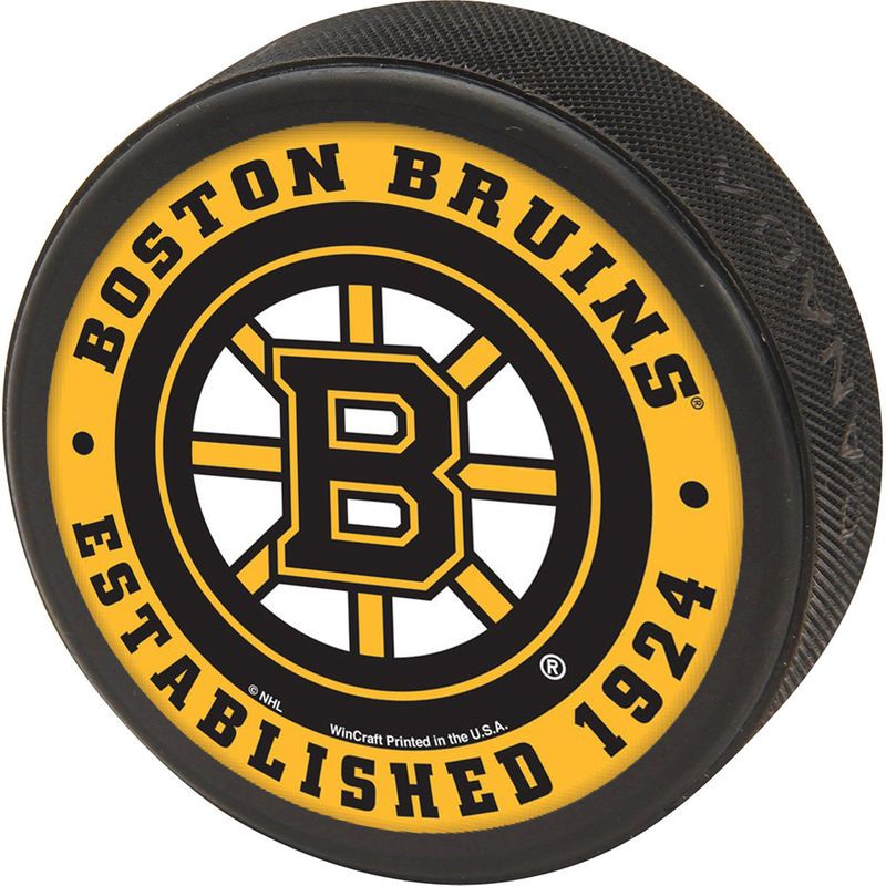 Boston Bruins Wincraft Printed Hockey Puck Boston Bruins Bruins Hockey Boston Bruins Hockey