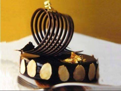 Glassa a specchio al cioccolato ricetta facile e veloce - Glassa a specchio montersino ...