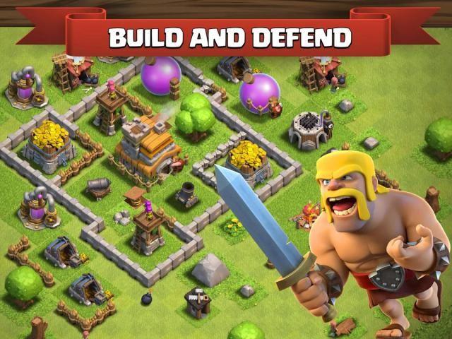 Tecnología Choque De Clanes Clash Of Clans Juegos