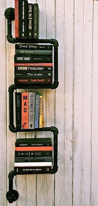 Pipe Bookshelves By SweetChicsPipeGeeks On Etsy 12000