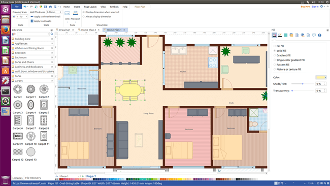 Looking For A Floor Plan Software To Create Floor Plans On Linux And Arrange Furniture Better