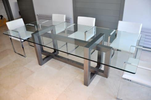 lnea alto diseo mesas de comedor de gonzalo de salas vidrio moderno de salas y mesas de vidrio