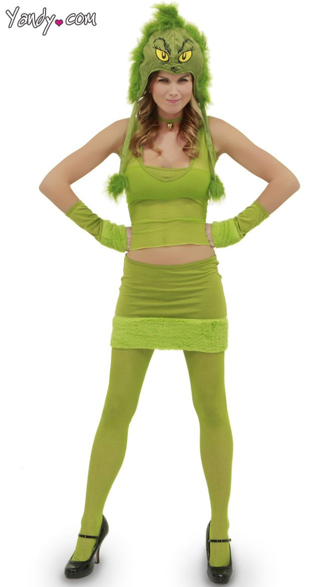 Grinch Hood And Green Costume Dr Seuss Accessories Green Girl Costume Halloween Costume