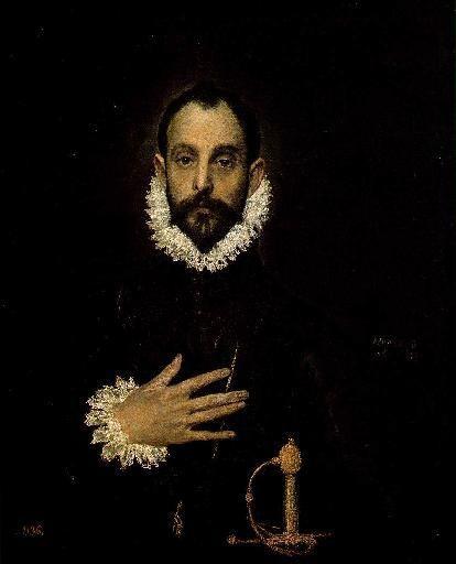 El Greco (Doménikos Theotokópoulos), by NEΦEΛH AΓΓEΛΛOY