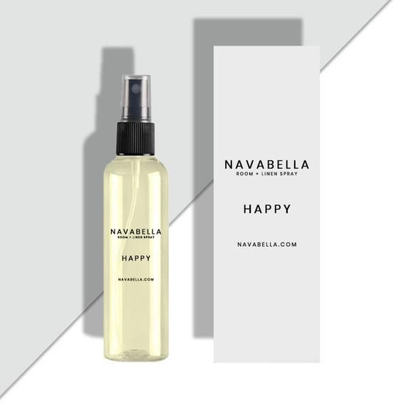 H A P P Y Peace Tonka Room Spray Room Fragrance Home