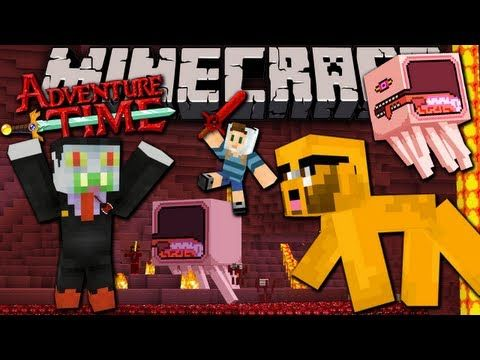 Roblox Horror Games Bigbstatz Minecraft Adventure Time Map Quest In Ooo With Jake Finale Ep 7 Nightosphere Knightmare Adventure Time Minecraft Minecraft Videos