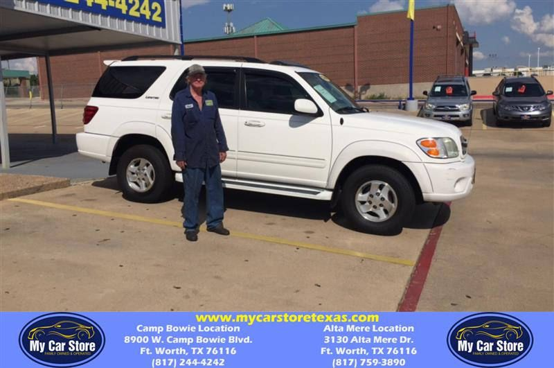 Congratulations Michael on your Toyota Sequoia from