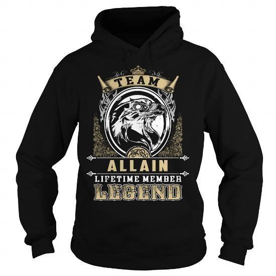 I Love ALLAIN, ALLAINYear, ALLAINBirthday, ALLAINHoodie, ALLAINName, ALLAINHoodies T shirts