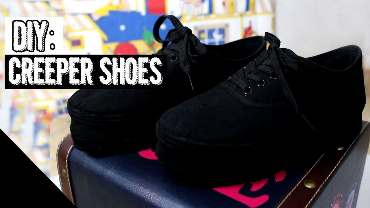 Pin By Eva Baran On Diy Youtube Diy Shoes Diy Goth Clothes Diy Clothes Tutorial