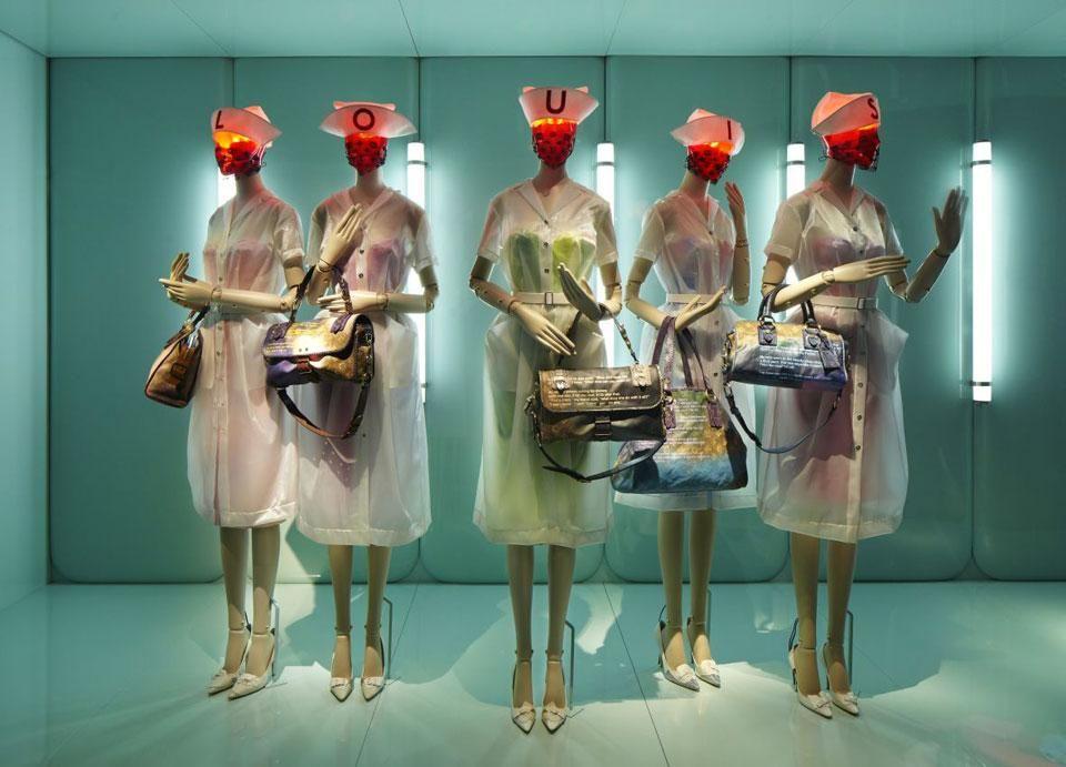Louis Vuitton - Marc Jacobs, at the Musée des Arts Décoratifs, installation view