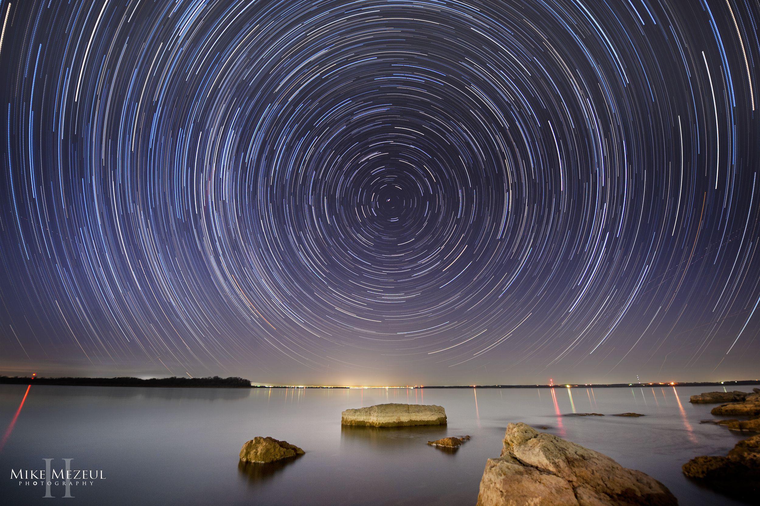 Star Trail Over Lake Ray Roberts In Sanger Texas Fishing Tips Fishing Trip Freshwater Fishing