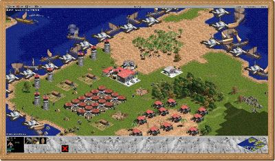 Age Of Empires 1 Pc Games Gameplay Age Of Empires Real Time Strategy Game Games