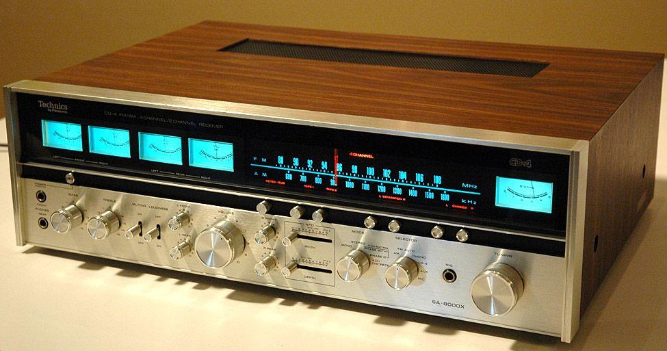 technics receiver sa8000x technics sa 8000x quadraphonic Lafayette Quadraphonic Amplifiers Realistic Amplifier Quadraphonic