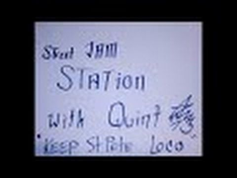 #CFQ Street Artist #CarlFuckingQuintiliani  Jams with Quint - Music by H...