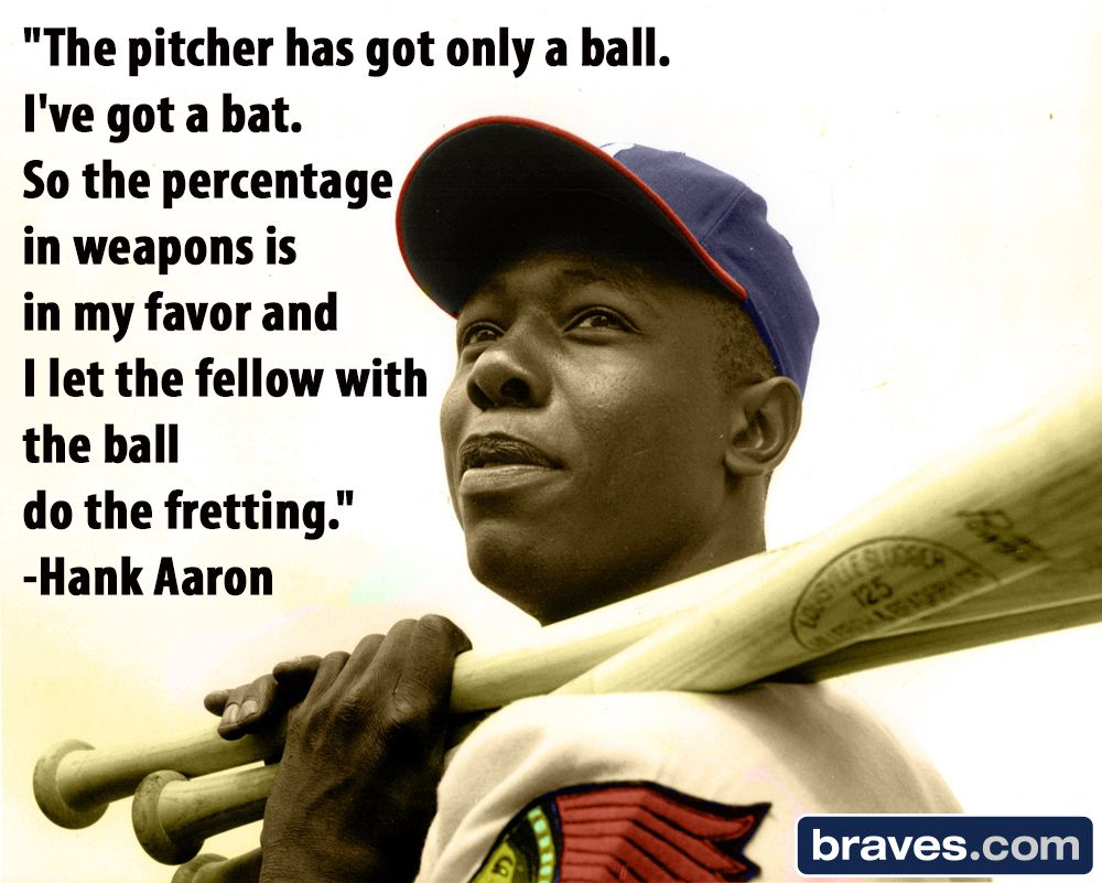 Baseball Love Quotes The Pitcher Has Got Only A Balli've Got A Batso The Percentage