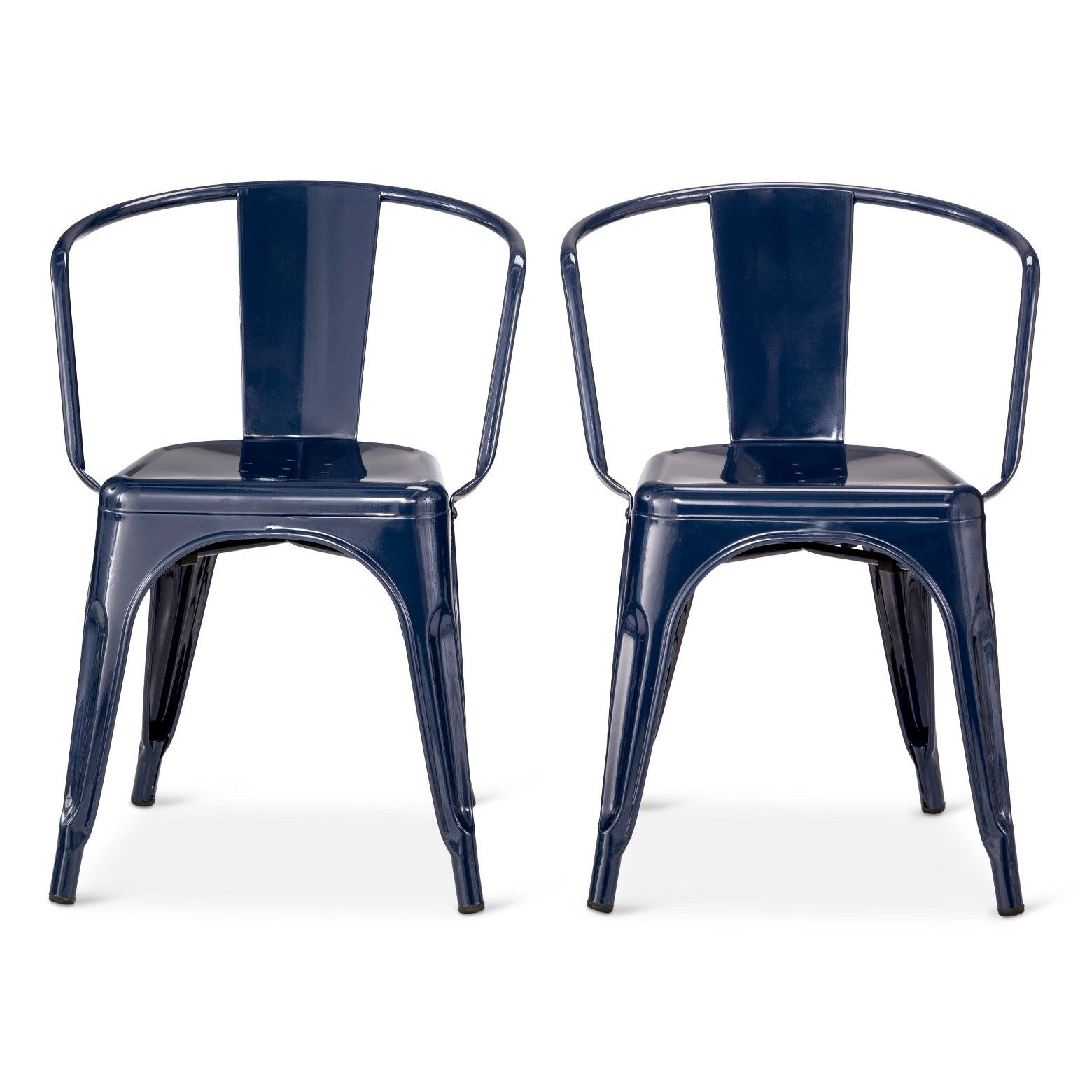 Pull up the carlisle low back metal dining chairs from for Looking for kitchen chairs