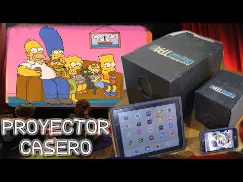 Como Hacer Un Proyector Para Celular Youtube Proyector Casero Como Hacer Un Proyector Proyector Para Celular