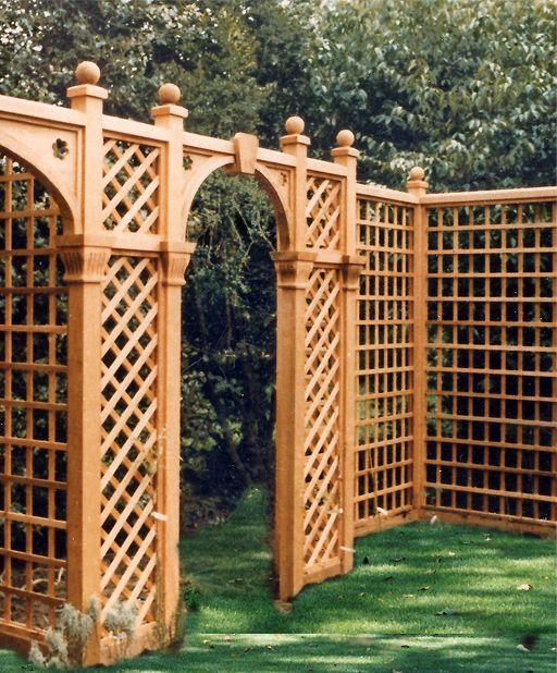 Garden Architecture London   Design U0026 Manufacture Of Trellis Arches,  Bespoke Garden Joinery U0026 Garden