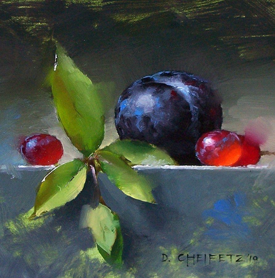 Bloom by David Cheifetz Oil ~ 6 x 6