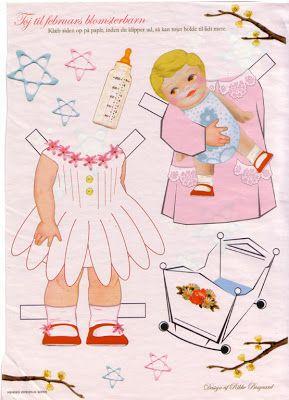 Paper Dolls: Girls flowering
