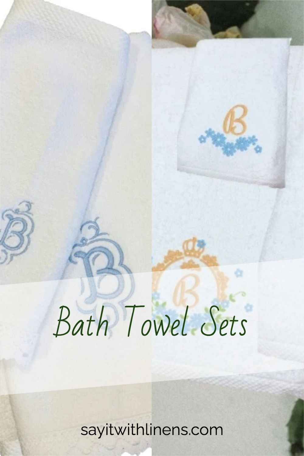 Personalised Embroidered Bath  Towel 450gsm 100/% Cotton Ideal Gift