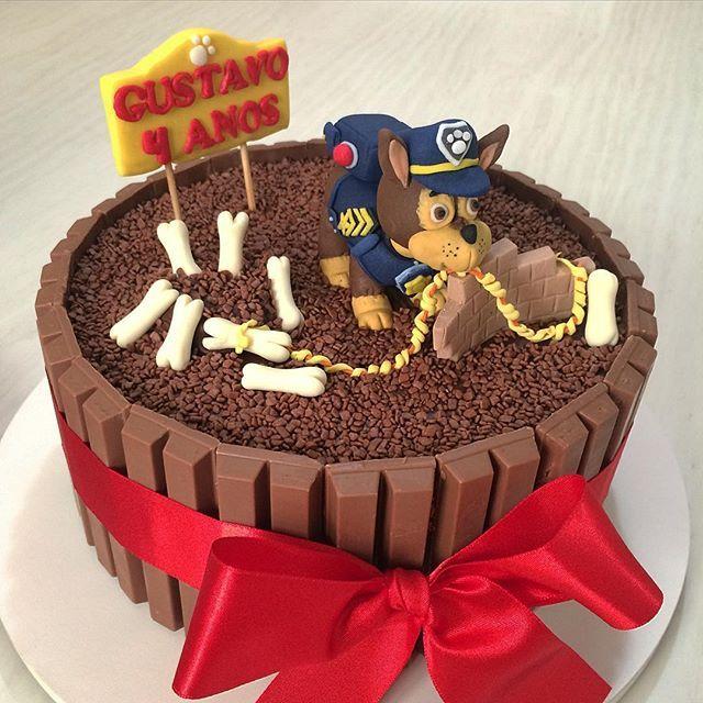 Bolo para Festa Patrulha Canina! #liviasormaniarteemdoces #bolo #cake #cakeideas #cakeguide ...
