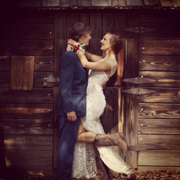 Prom Pictures, Prom, Couples, Love, Cowgirl Boots, Country