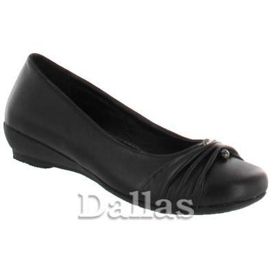Girls School Shoes Girls Flat School Shoes Slip On Shoes Cheap School Shoes Size